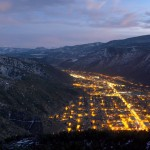 Glenwood Springs At Night
