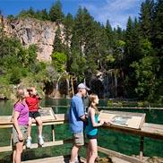 hanging lake hike, glenwood springs co